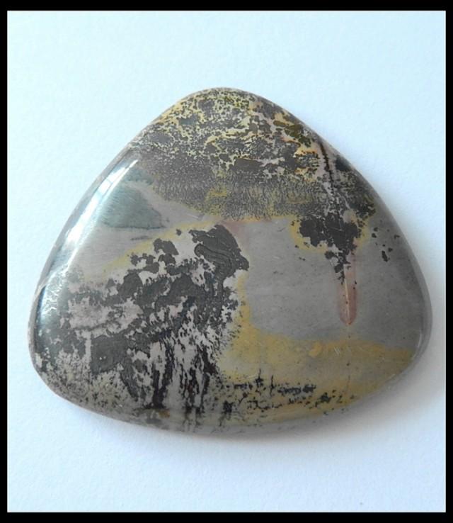 102.5Cts Natural Chohua Jasper Gemstone Cabochon,Beautiful Picture