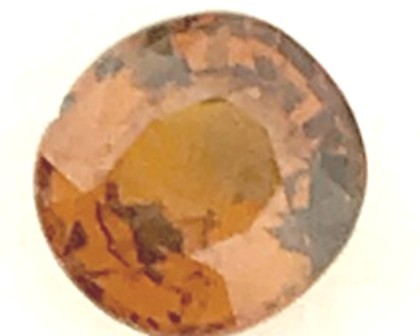 .85Ct Pinkish Brown - Grabbing Color  - Malaya Garnet MA01