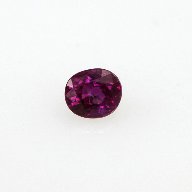 0.28cts Natural Burma Ruby Oval Cut