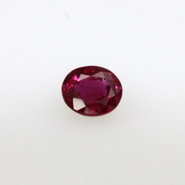 0.51cts Natural Burma Ruby Oval Cut