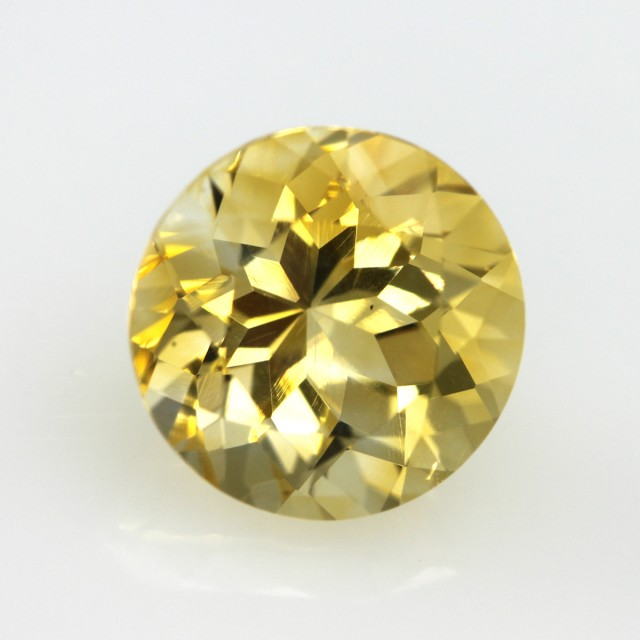 4.50cts Yellow Citrine Round Shape