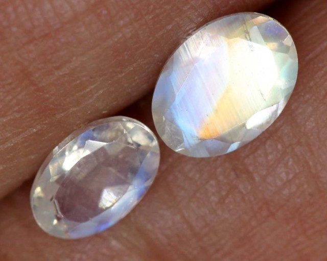 1.15 CTS FACETED MOONSTONES PARCEL ANGC-541