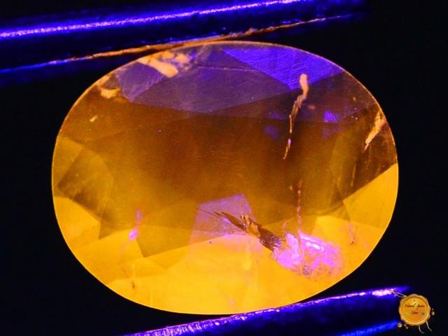 0.470 ct Natural Fluorescent Scapolite