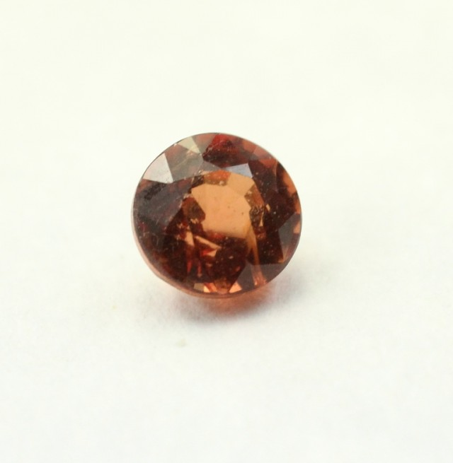 SPINEL ORANGY RED ROUND SHAPED