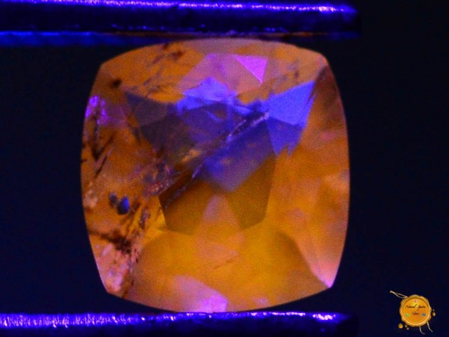 0.410 ct Natural Fluorescent Scapolite