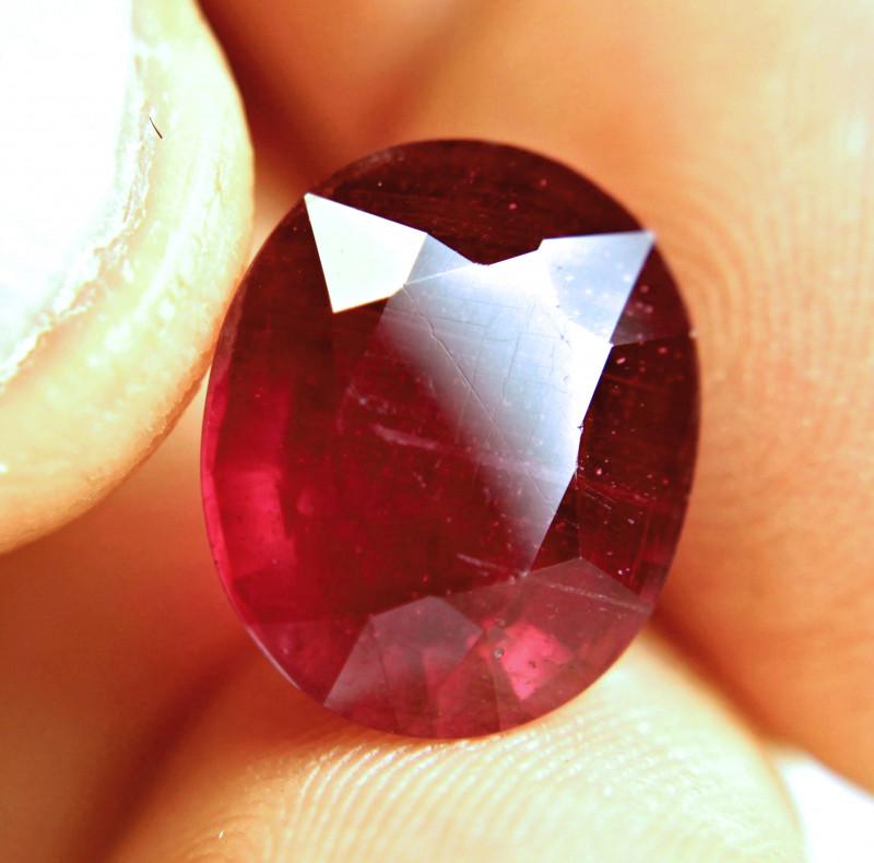 11.95 Carat Fiery Ruby