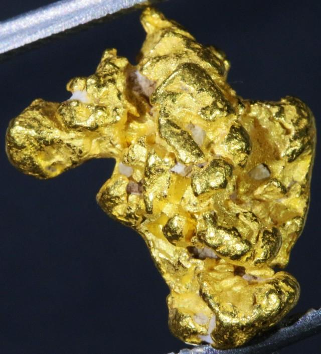 Nuggets Of Information: 4.31 Grams Kalgoorlie Gold Nugget,Australia LGN 1367