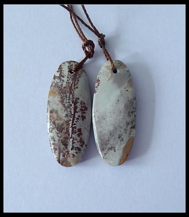 16.35Ct Natural Chohua Jasper Earring Beads(18091197)