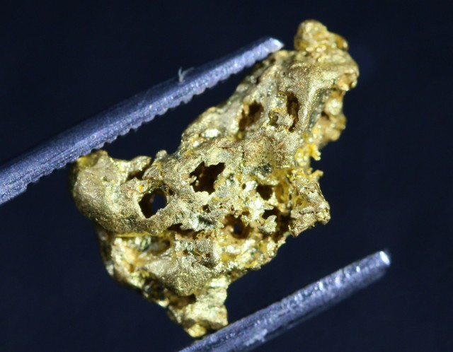2.57g Grams Australian Gold Nugget from Bendigo LGN1375