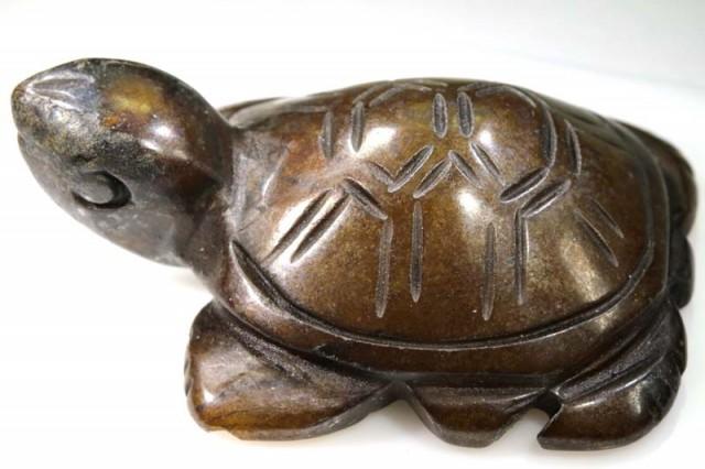 131.10 CTS Natural BOULDER OPAL Carving LT-698