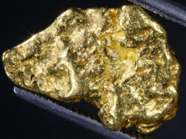 6.17 Grams Kalgoorlie Gold Nugget,Australia LGN 1382