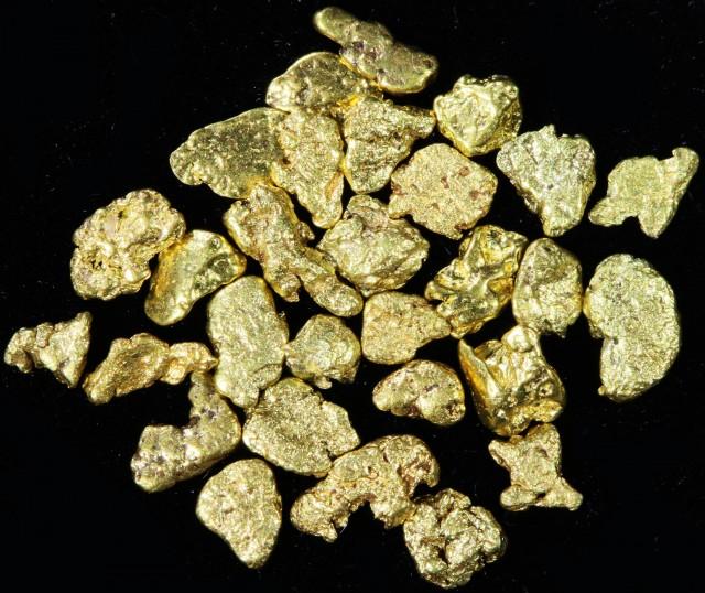 One Gram 14 screen Yukon Gold nuggets LGN 1397
