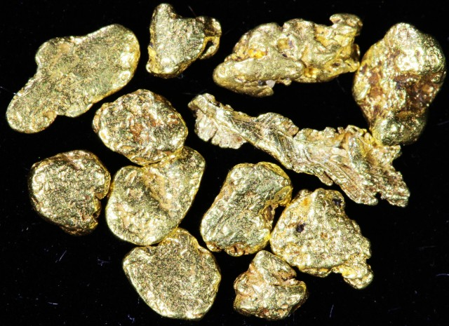 One Gram 10 screen Yukon Gold nuggets LGN 1402
