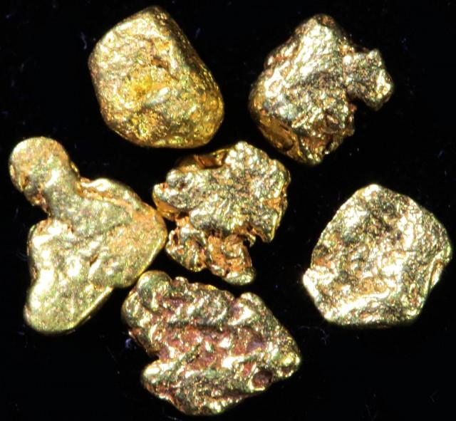 0.5 Gram 10 screen Yukon Gold nuggets LGN 1416