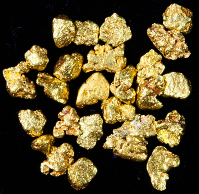 2 Gram 10 screen Yukon Gold nuggets LGN 1421