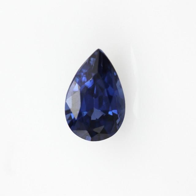 0.51cts Natural Sri Lankan Sapphire Pear Shape