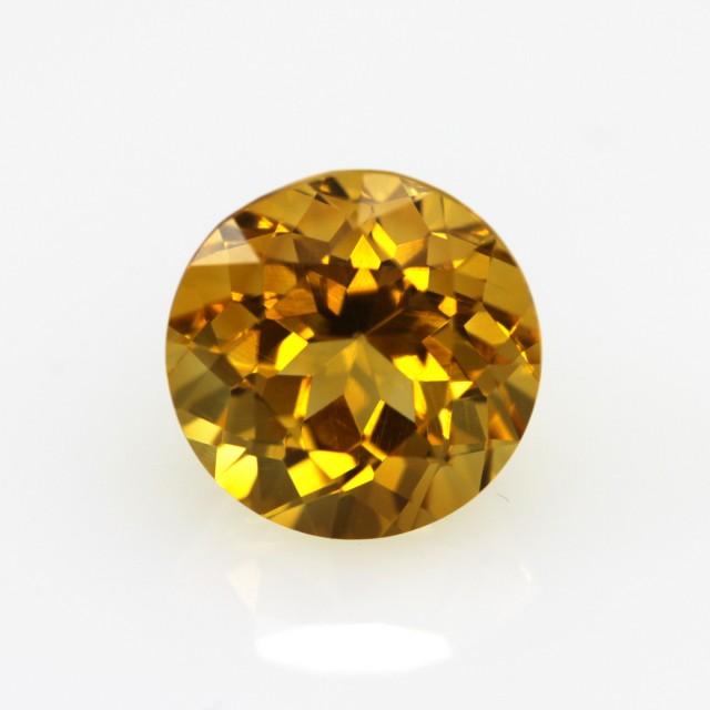 2.60cts Golden Yellow Citrine Round Shape
