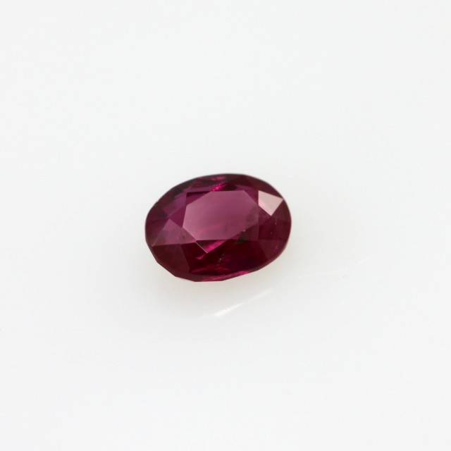 0.49cts Natural Burmese Ruby Oval Shape