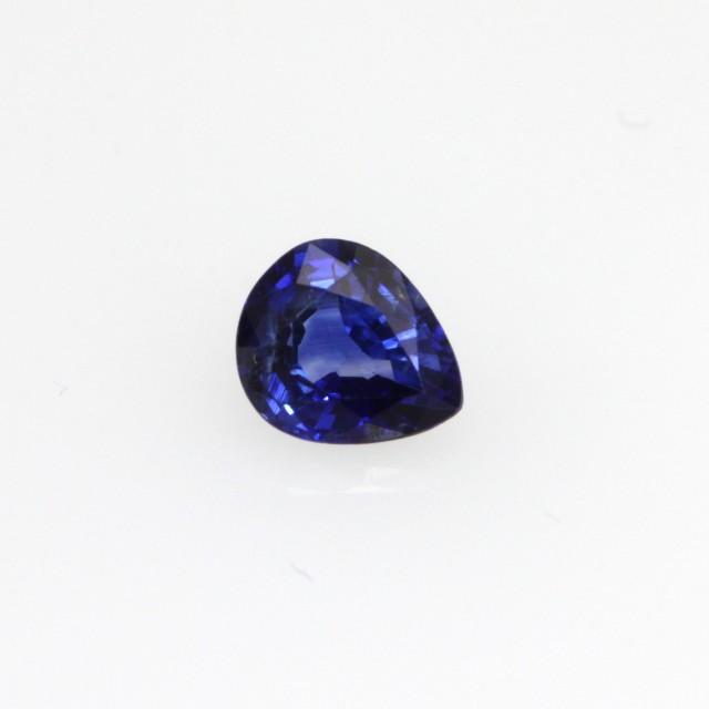 0.49cts Natural Sri Lankan Sapphire Pear Shape