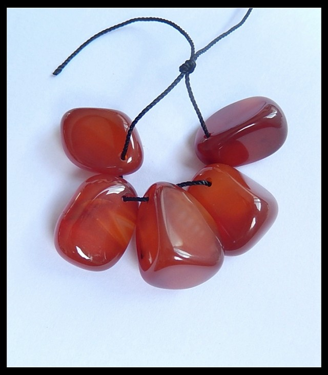 Freeform Red Agate Beads Strand,Agate Pendant Strands,85ct
