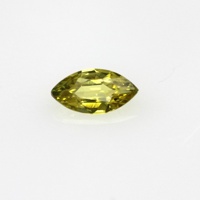 0.41cts Natural Australian Yellow Sapphire Marquise Cut
