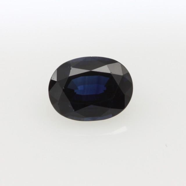 1.54cts Natural Australian Blue Sapphire Oval Cut