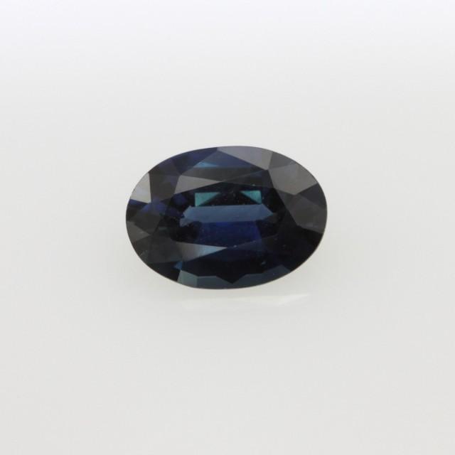 1.01cts Natural Australian Blue Sapphire Oval Cut