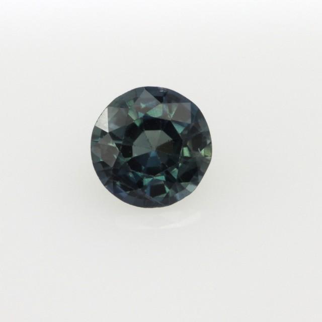 0.70cts Natural Australian Blue Sapphire Round Cut