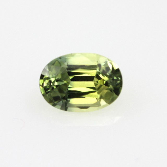 0.95cts Natural Australian Yellow Parti Sapphire Oval Shape