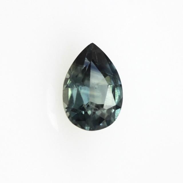 0.61cts Natural Australian Blue Sapphire Pear Shape