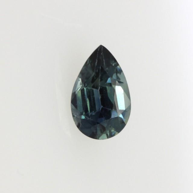 0.55cts Natural Australian Blue Sapphire Pear Shape