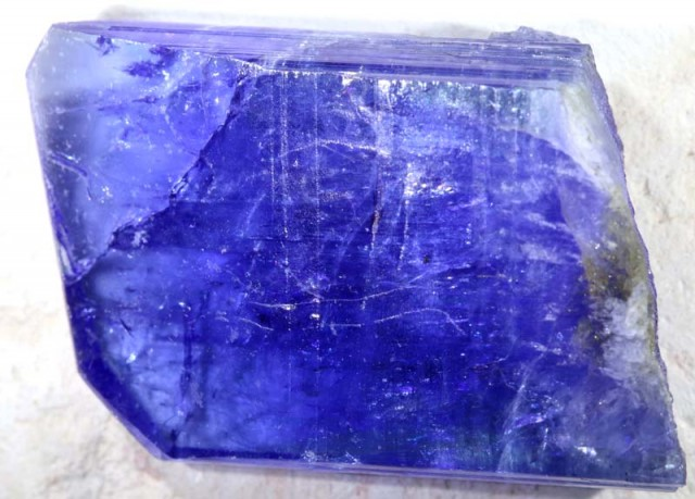 47.85 CTS TANZANITE ROUGH CRYSTAL TBM-840