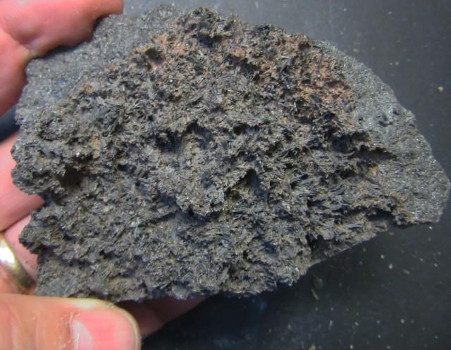 1625 Cts Australian Black Tourmaline Crystaline Specimen  PPP 283