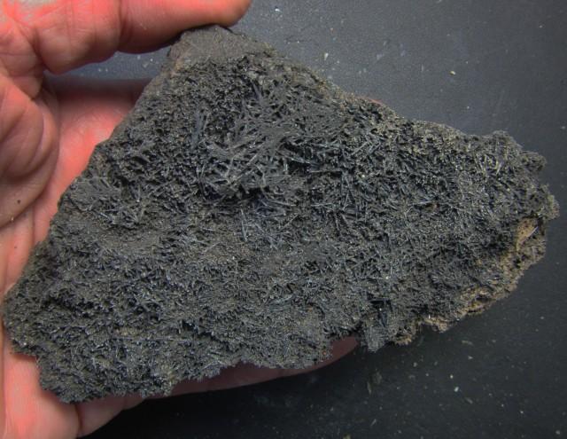 1950 Cts Australian Black Tourmaline Crystaline Specimen  PPP 284