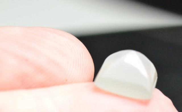 White Moonstone sugar loaf gemstone cabochon 10mm by 8.5mm