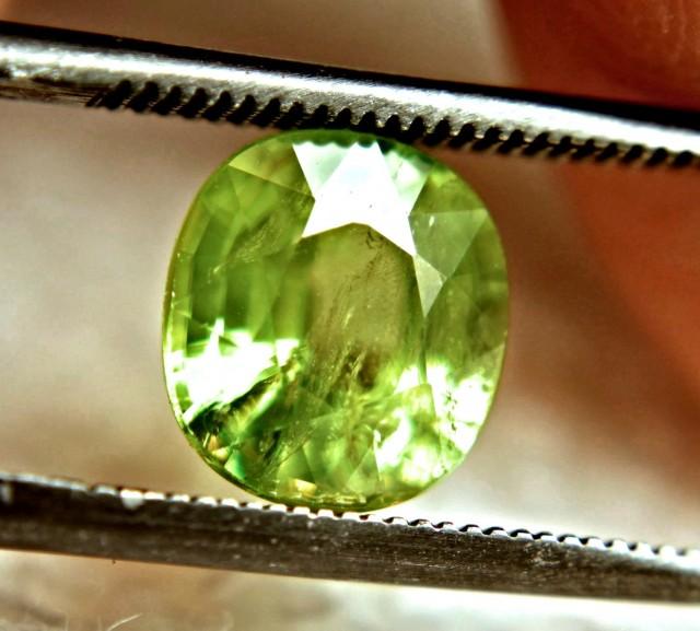2.3 Ct. Vibrant Green Sphene - Fun and Beautiful