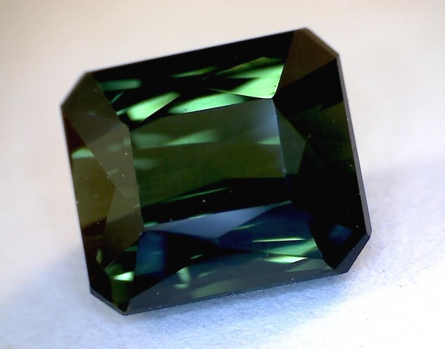 1.96 ct Dark Jungle Green Tourmaline VVS , Brazil  A170