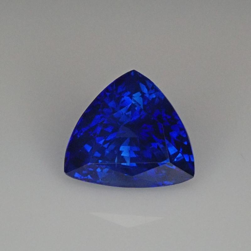 2.13ct Trillion cut Blue Sapphire