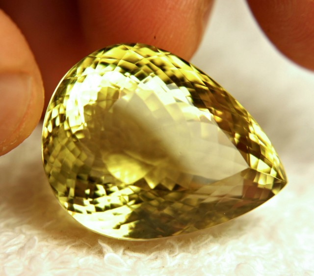 63.5 Ct. African Lemon Quartz Beauty