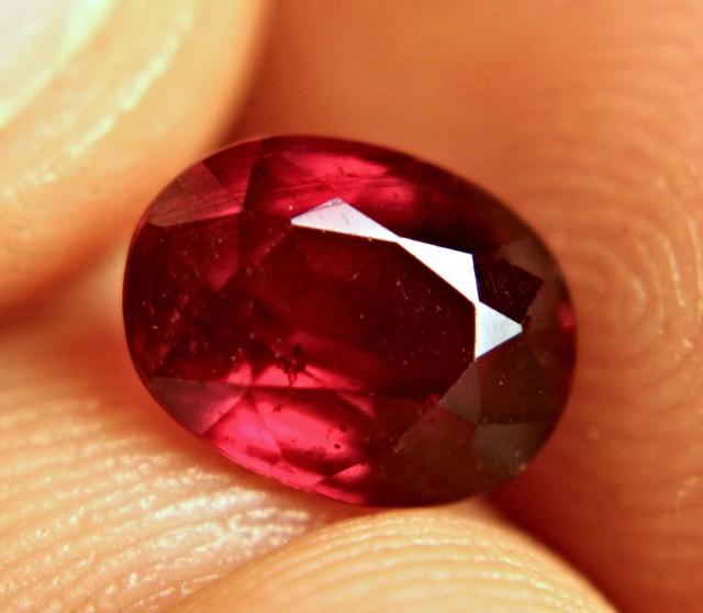 3.01 Carat Fiery Ruby - Beautiful Gem