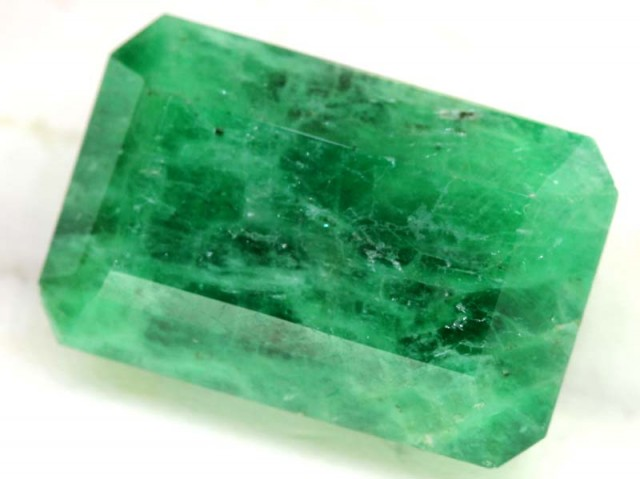 35 CTS   EMERALD FACETED BRAZIL CG-2091
