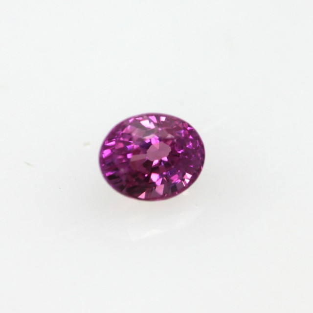 0.40cts Natural Pink Saphhire Oval Cut