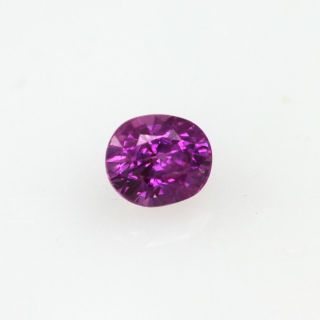 0.41cts Natural Pink Saphhire Oval Cut