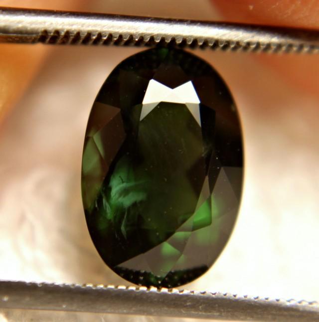 4.53 Ct. Elegant Green Nigerian VVS/VS Tourmaline - Gorgeous