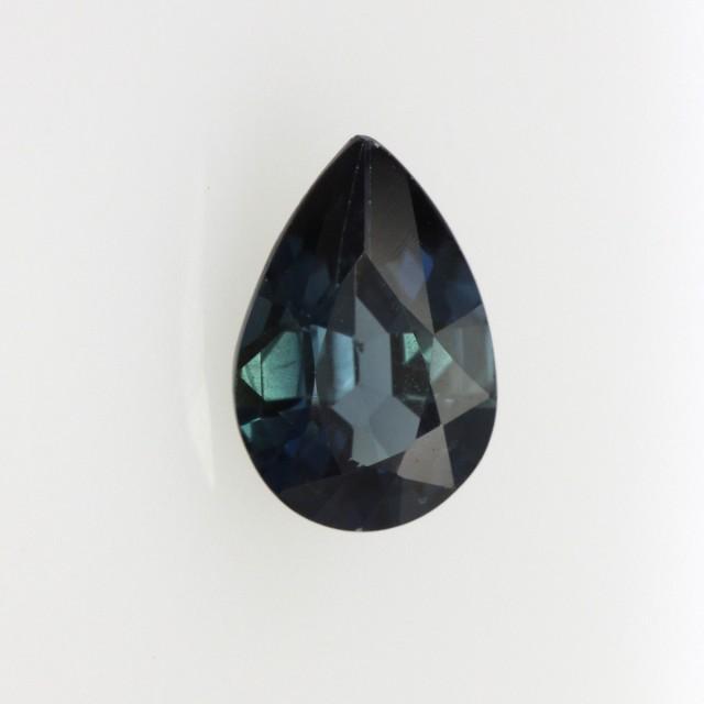 0.87cts Natural Australian Blue Sapphire Pear Cut