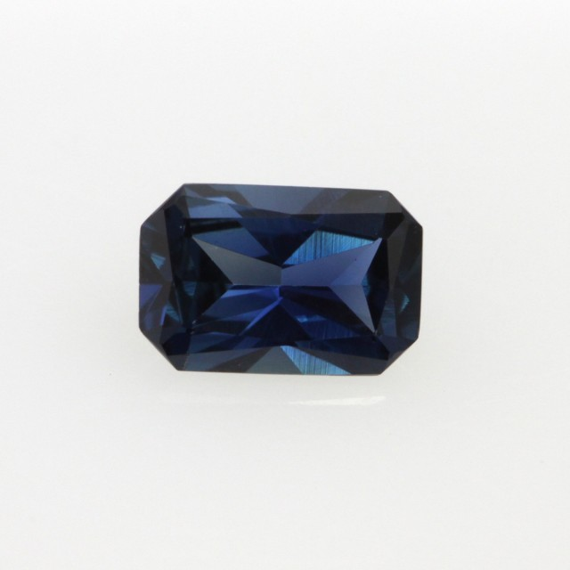 0.48cts Natural Australian Blue Sapphire Emerald Cut