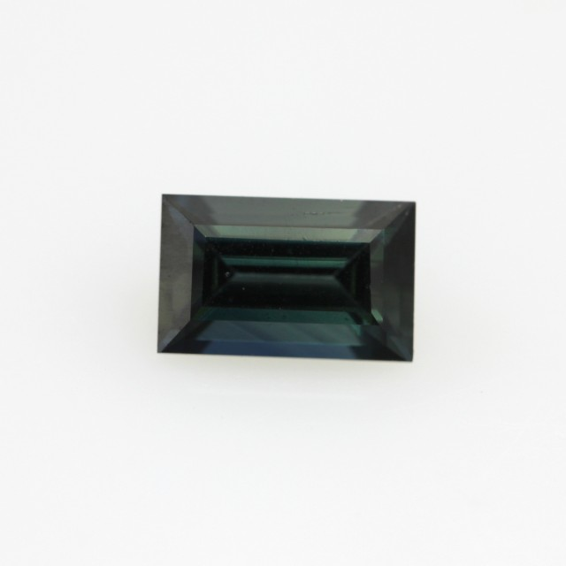 1.02cts Natural Australian Blue Sapphire Baguette Cut