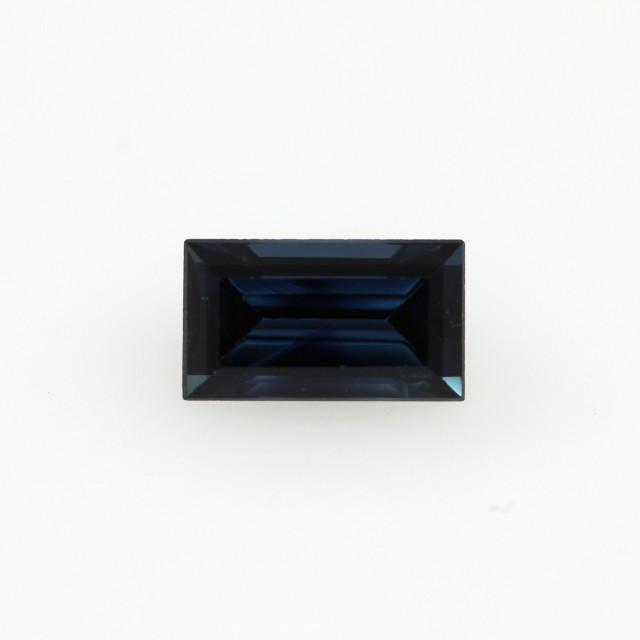 1.03cts Natural Australian Blue Sapphire Baguette Cut