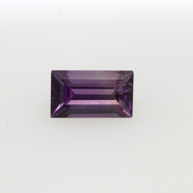 0.74cts Natural Purple Amethyst Baguette Shape