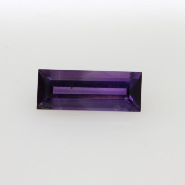 1.05cts Natural Purple Amethyst Baguette Shape
